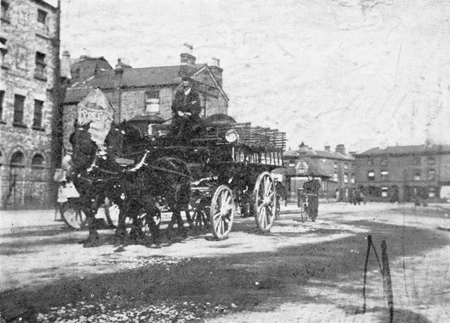 Barker Gate, Lace Market, c 1895