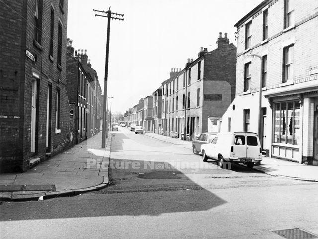 Bridlington Street, Hyson Green, 1973
