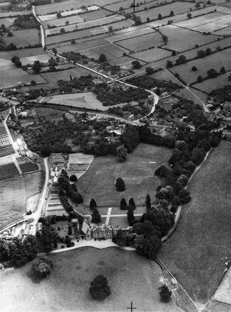 Thurgarton Hall and Village, Thurgarton, 1952