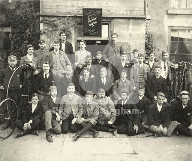 Beeston Wanderers Cycling Club, c 1885