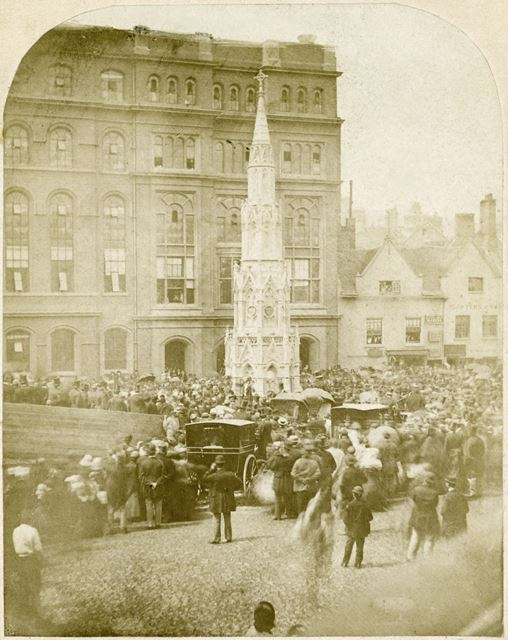 Walter Fountain, Opening Ceremony, Lister Gate