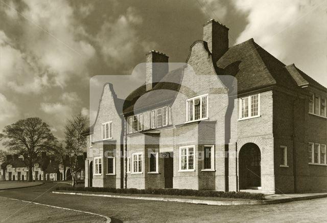 Abel Collin's Almshouses, Derby Road, Beeston, c 1950
