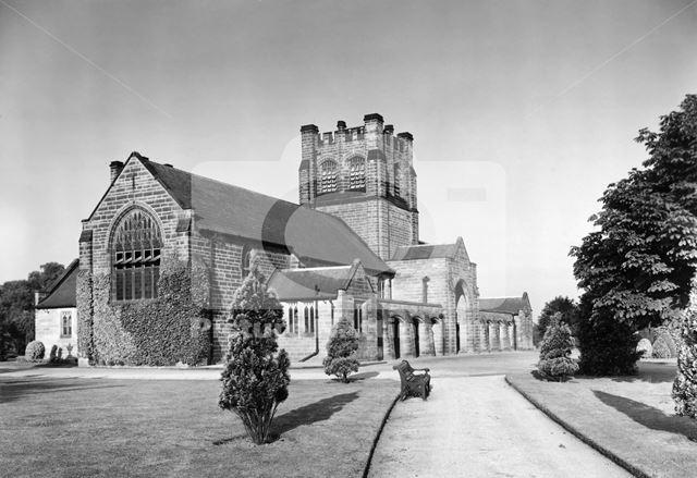 Crematorium, Wilford Hill, West Bridgeford, c 1950