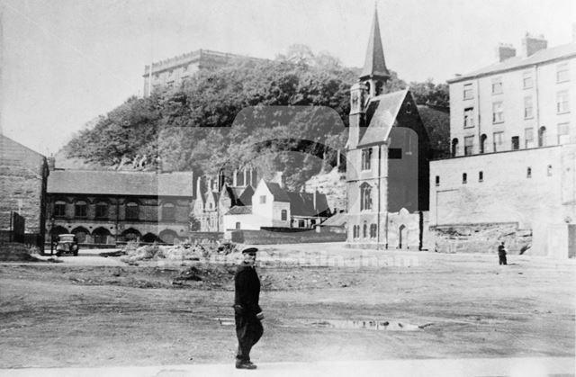 Looking towards Castle Road, 1930