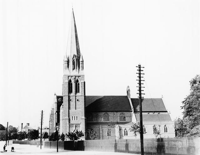 St Paul's Church, Mansfield Road, Daybrook, Arnold, c 1898