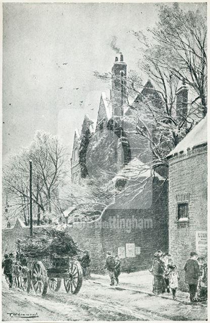 The Manor House, Sneinton, Nottingham, 1890