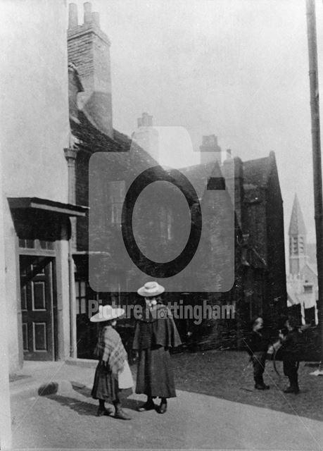 Commerce Square, Lace Market, c 1890