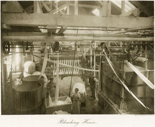 Thomas Adams Lace Factory, Stoney Street, Nottingham, 1914