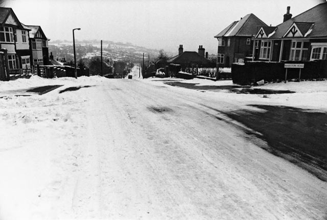 Dale View Road, Thorneywood, Nottingham, 1979