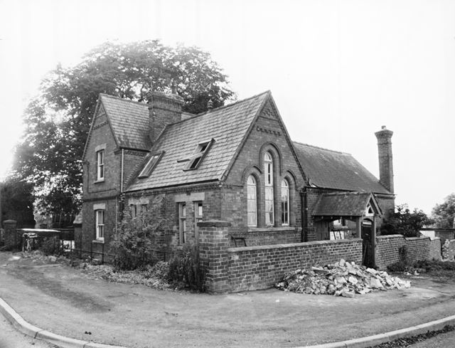 Former village school, Alverton, 1978