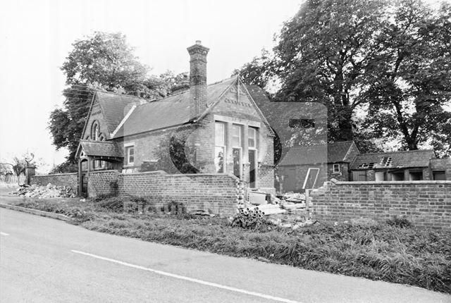 Former village school, Alverton, 1978