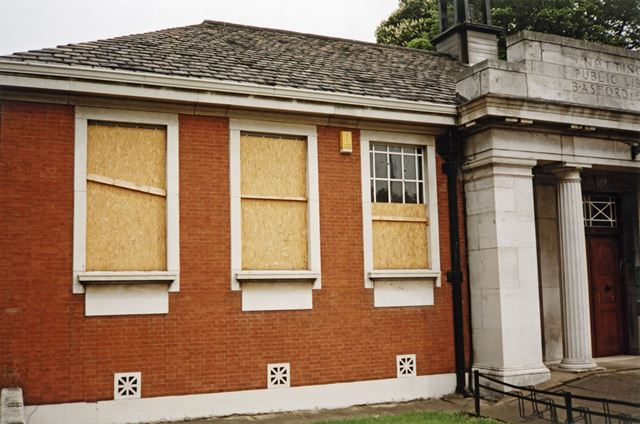 Basford Library, Vernon Road, Basford, Nottingham, 1996