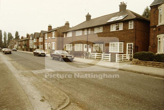 Highfield Road, Dunkirk, Nottingham, 1985