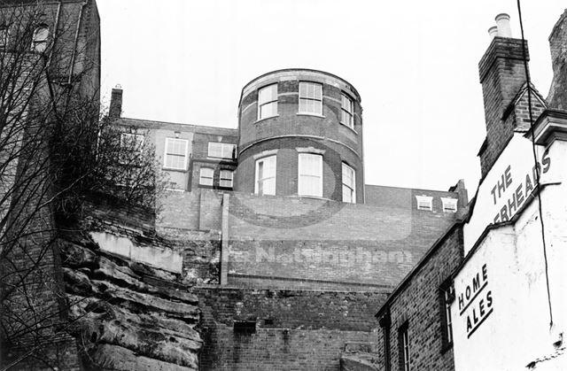 High Pavement, Lace Market, Nottingham, 1975