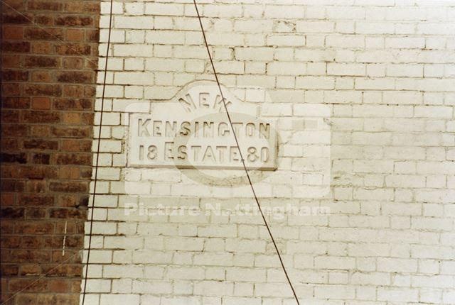 Datestone, Ilkeston Road, Radford, Nottingham, 1985