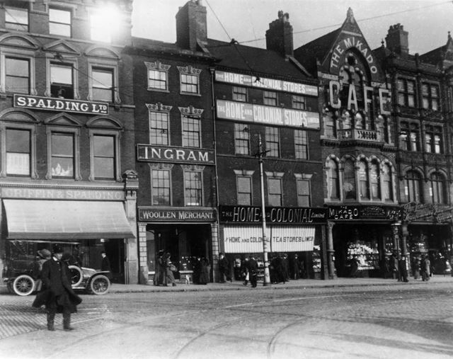 Long Row Central, Nottingham, c 1930s?