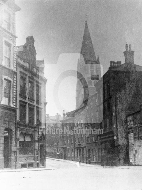 High Pavement, Lace Market, Nottingham, pre 1960s