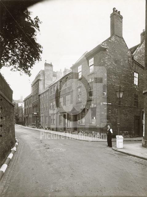 High Pavement, Lace Market, Nottingham, 1944