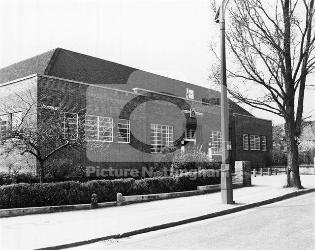 Branch Library, Nuthall Road, Aspley, 1980