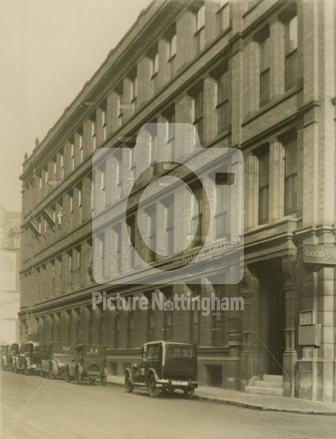 Stoney Street, Lace Market, Nottingham, early 20th century
