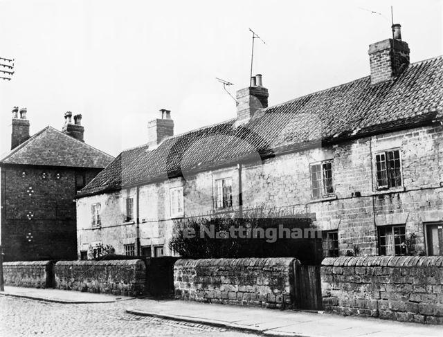 West End Row, Quarry Road, Bulwell, Nottingham, c 1960s ?