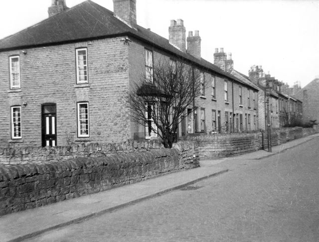 Quarry Road, Bulwell, Nottingham, c 1950
