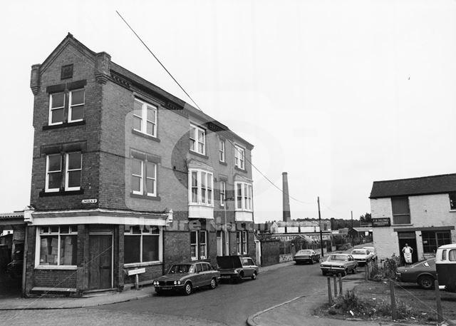 Nottingham Road, Basford, Nottingham, 1978