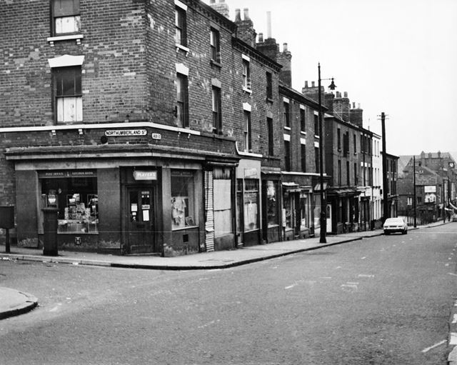 Union Road, St Ann's, Nottingham, 1969