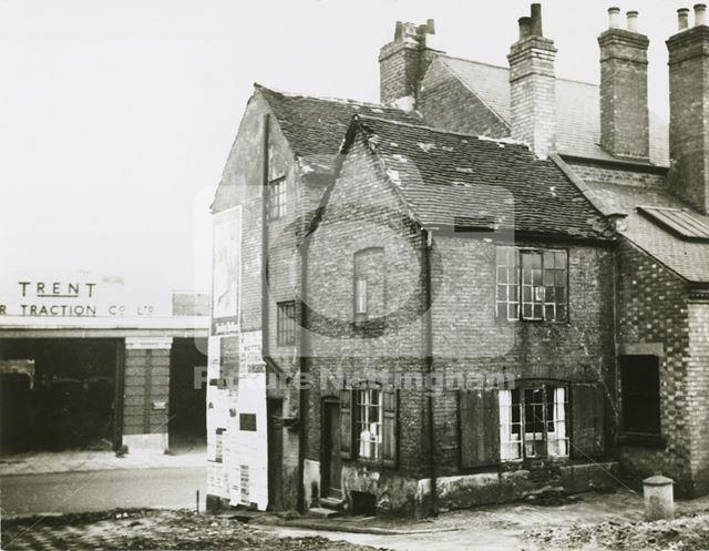 White Cow Yard, Lace Market, Nottingham, 1937