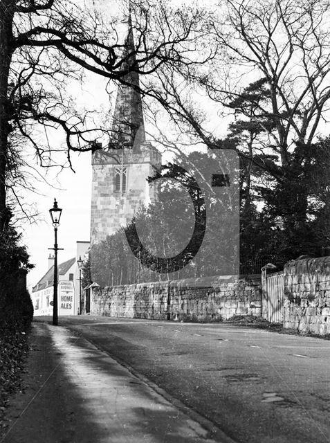 Wollaton Road, Wollaton, Nottingham, c 1950