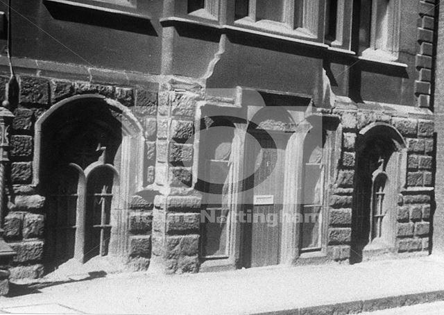 Part of Adams' Building, Stoney Street, Nottingham