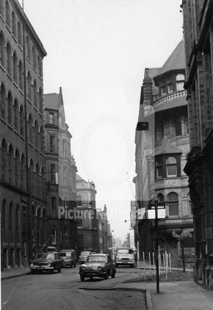 Stoney Street, Lace Market, Nottingham, c 1950s