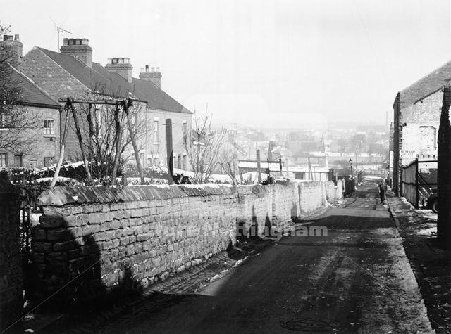 Wilkinson Street, Basford, Nottingham, 1962