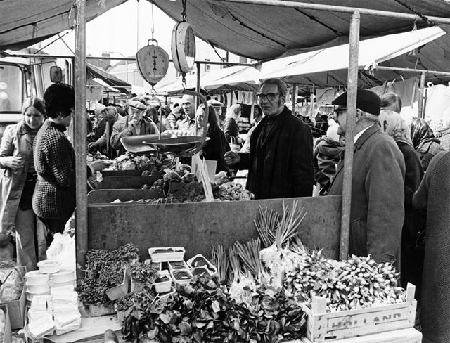 Bulwell Market, Market Place, Bulwell, 1974
