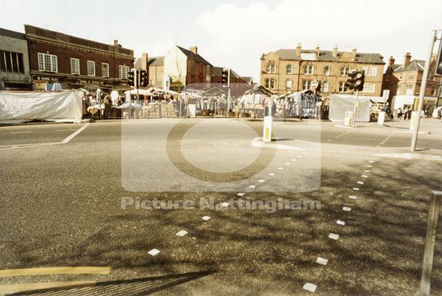 Bulwell Market, Market Place, Bulwell, 1985