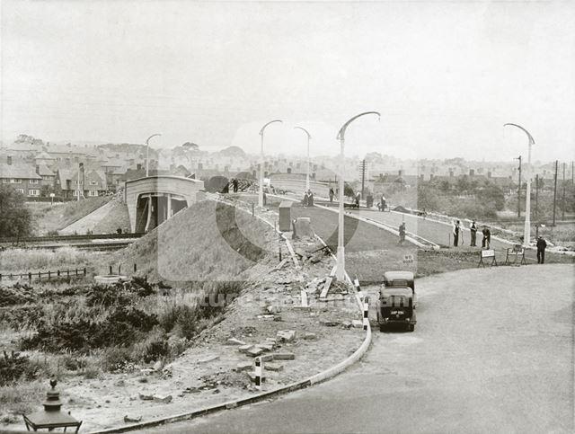 Moor Bridge, Bulwell, Nottingham, 1939