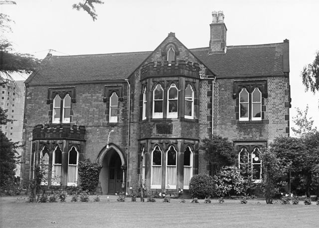 Rock House, Basford RDC (Rural District Council) Offices, Bagnall Road, Basford, Nottingham, c 1968?