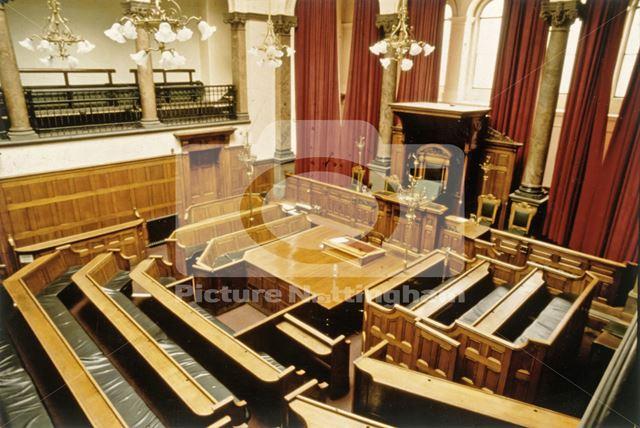 Court Interior, Shire Hall, High Pavement, Lace Market, Nottingham