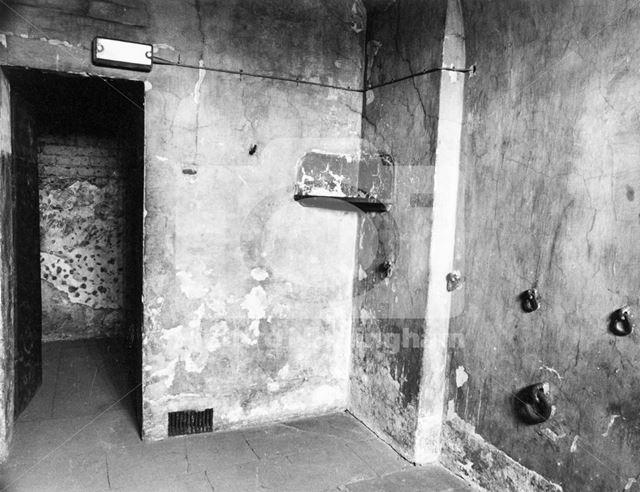 County Gaol, Shire Hall, High Pavement, Lace Market, Nottingham, 1981