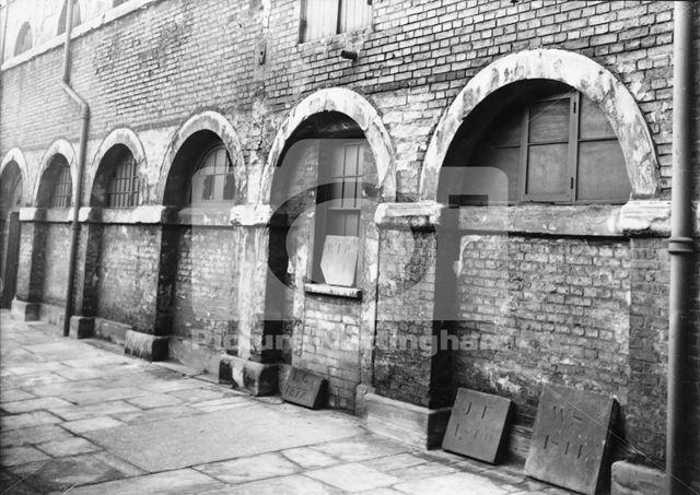 County Gaol, Shire Hall, High Pavement, Lace Market, Nottingham, 1938