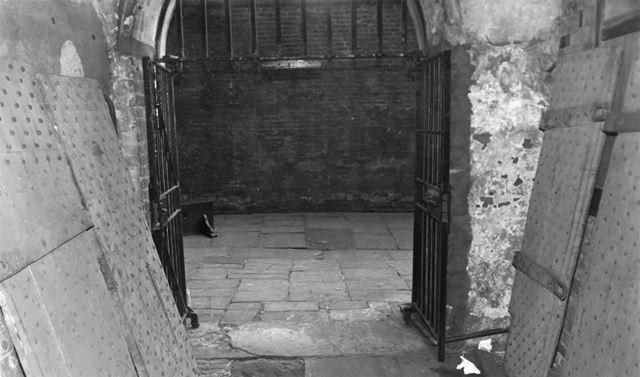 County Gaol, Shire Hall, High Pavement, Lace Market, Nottingham, c 1985