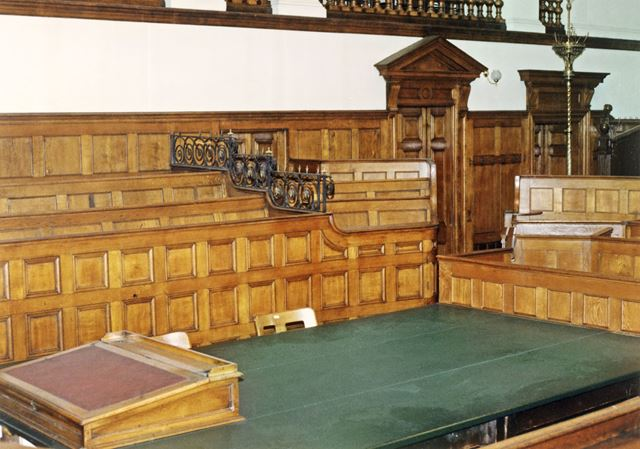 Courthouse, Shire Hall, High Pavement, Lace Market, Nottingham, 1989
