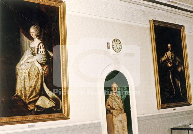 Grand Jury Room, Shire Hall, High Pavement, Lace Market, Nottingham, 1989
