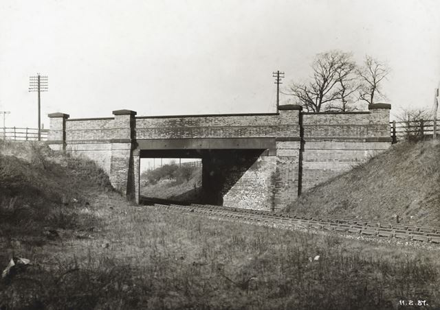 Arnold Road Bridge, Basford, Nottingham, 1937