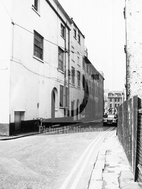 St Mary's Gate, Lace Market, Nottingham, 1986