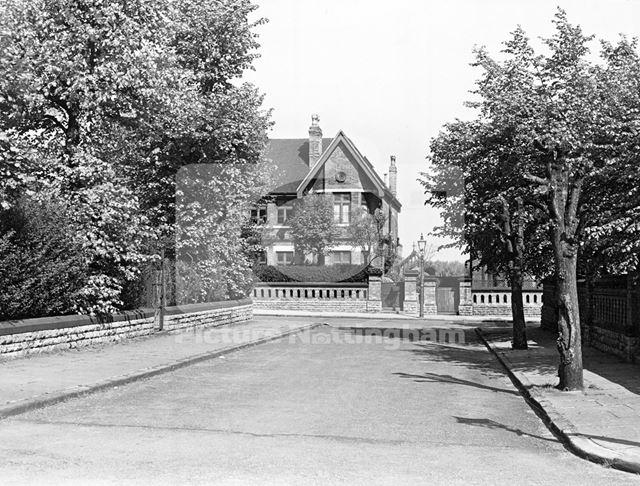 Mayo Road at junction with Bolsover Gardens, Carrington, Nottingham, 1959