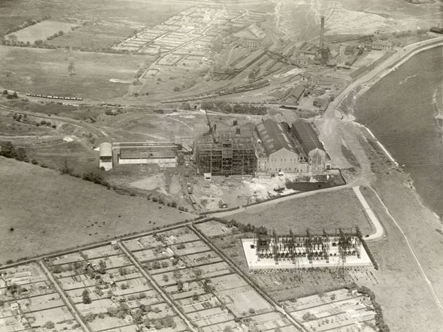Wilford Power Station and Colliery, Colliery Road, Wilford, Nottingham, c 1924