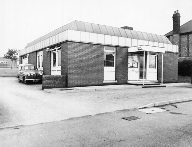 Police Station, Bar Lane, Basford, Nottingham, 1973