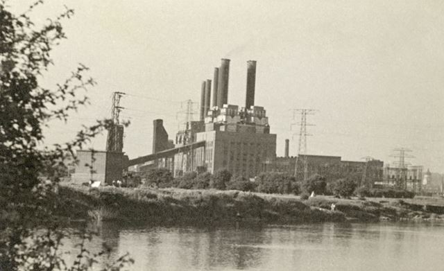 North Wilford Power Station, Colliery Road, Wilford, Nottingham, c 1940