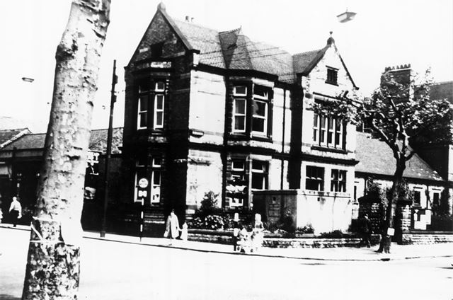 Police Station, Radford Road, Hyson Green Nottingham, c 1940s